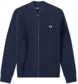 Fred Perry Authentic Bomber Neck Zip Cardigan