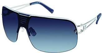 Rocawear Men's R1416 Slvbl Shield Sunglasses