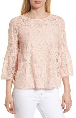Chelsea28 Bell Sleeve Lace Top