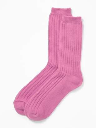 Old Navy Soft-Brushed Rib-Knit Socks for Women