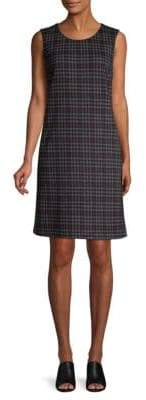 Peserico Plaid Sheath Dress