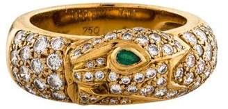Cartier Panthère de Diamond & Emerald Band