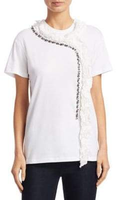 N°21 Embellished Cotton Tee