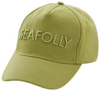 Seafolly NEW Canvas Cap Khaki