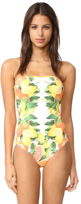 Stella McCartney Iconic Prints Sleeveless One Piece $245 thestylecure.com