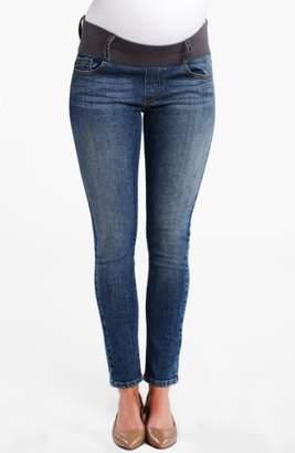 Maternal America Maternity Ankle Skinny Jeans