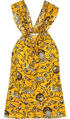 Etoile Isabel Marant Acan Printed Cotton Top