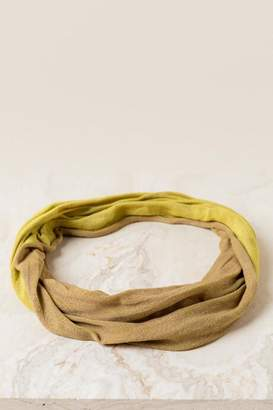 francesca's Sally Reversible Softwrap - Mustard