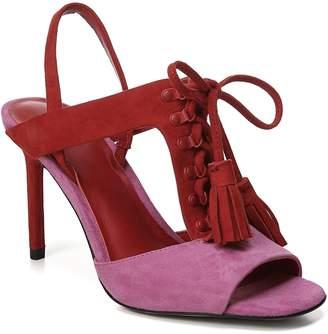 Diane von Furstenberg Arabella Tasseled Lace-Up Sandal