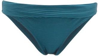 Heidi Klein Pintucked Bikini Briefs - Womens - Green