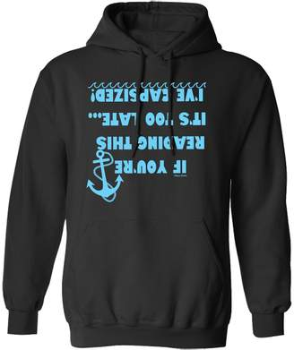 Buzz Shirts If You`re reading This It`s Too Late...I`ve Capsized Sailing Hoodie Or Sweater