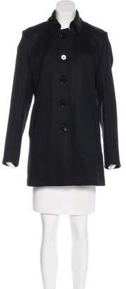 Victoria Beckham Wool Knee-Length Coat