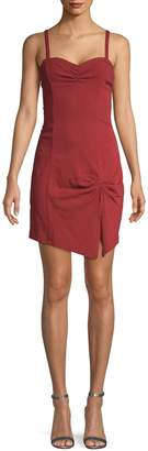 Free People Intimately Front Slit Asymmetrical Mini Dress
