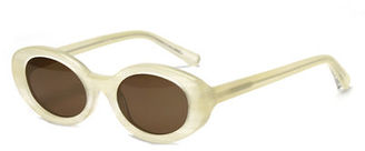 Elizabeth and James McKinley Oval Acetate Sunglasses $185 thestylecure.com