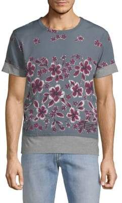 Valentino Floral-Print Cotton Tee