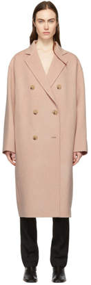 Acne Studios Pink Odethe Double Coat