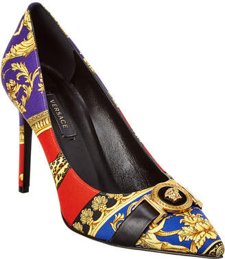 Versace Pillow Talk Print Icon Pump