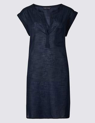 Marks and Spencer Pure Cotton Textured Kaftan