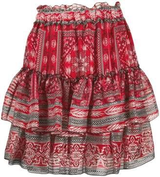 Isabel Marant ruffle tiered skirt