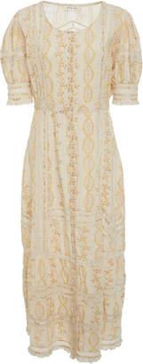 LoveShackFancy Desiree Midi Dress
