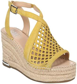 6351aa2506e Yellow Espadrille Wedge Women s Sandals - ShopStyle