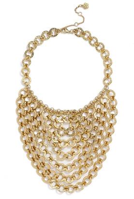 Trina Turk Chain Bib Necklace $198 thestylecure.com