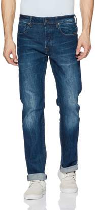 G Star Men's Defend Straight Fit Jean In Accel Stretch Denim