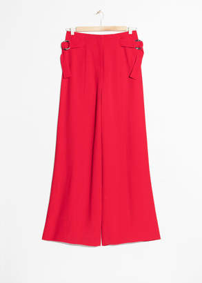 And other stories Belted Suit Trousers