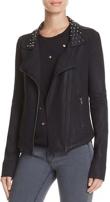 Benjamin Jay Kirra Moto Jacket $288 thestylecure.com