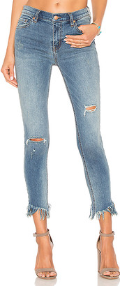 Free People Great Heights Frayed Skinny Jean.