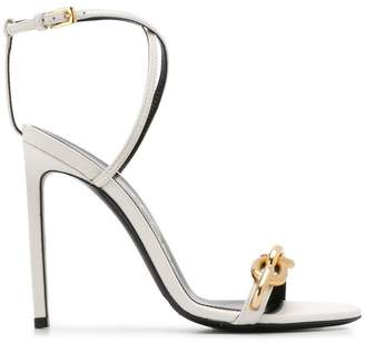 Tom Ford cable chain sandals