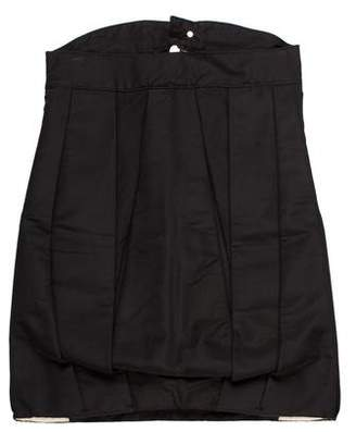 DSQUARED2 Zip-Up Knee-Length Skirt