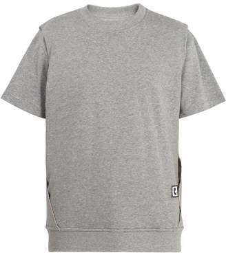 Wooyoungmi Double-layered cotton-jersey T-shirt