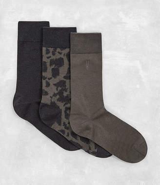 AllSaints Montauld Sock 3 Pack
