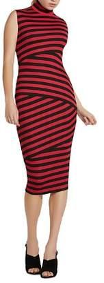 Bailey 44 Pavlova Tiered Striped Dress