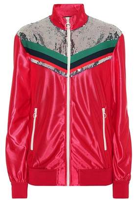 Gucci Sequined track jacket