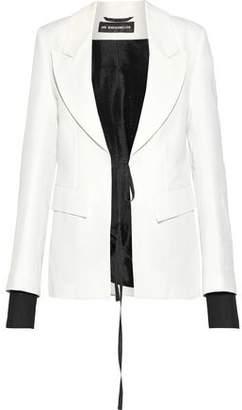 Ann Demeulemeester Anderson Linen And Cotton-Blend Blazer