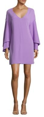 Laundry by Shelli Segal Bell Sleeve Shift Dress $195 thestylecure.com