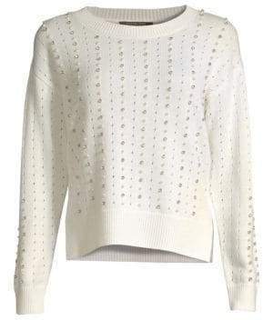 Raye Kobi Halperin Embellished Sweater