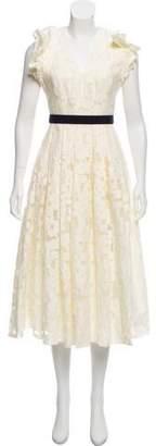Mantu Lace Midi Dress w/ Tags