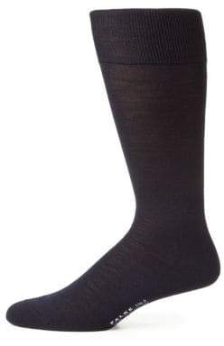 Falke Solid Wool-Blend Dress Socks