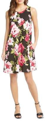 Karen Kane Chloe Sleeveless Floral-Print Dress