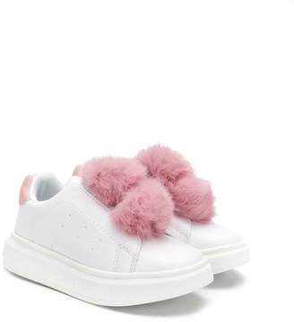 Colors of California Kids pompom sneakers