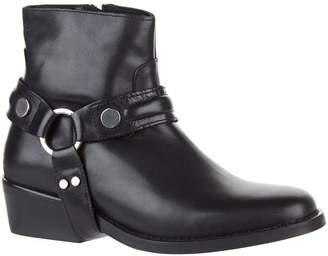Claudie Pierlot Leather Buckle Boots