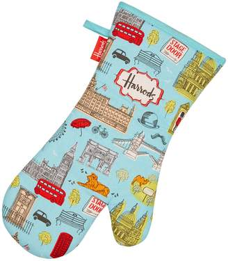Harrods London Map Oven Glove