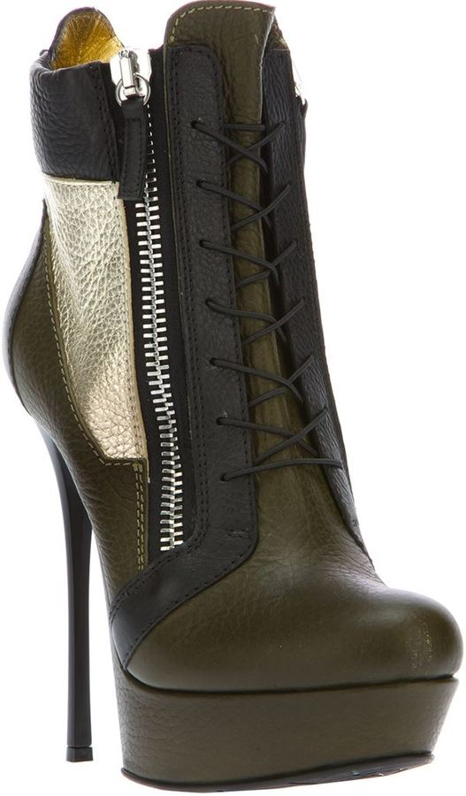 Gianmarco Lorenzi Collector lace up boot