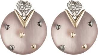 Alexis Bittar Heart Stud Post Earrings