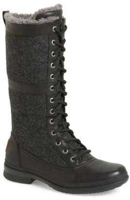 Women's Ugg Elvia Waterproof Tall Boot $249.95 thestylecure.com