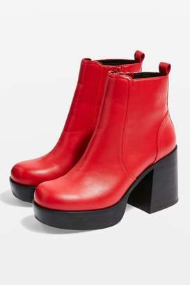 Topshop MONSTER Platform Boots