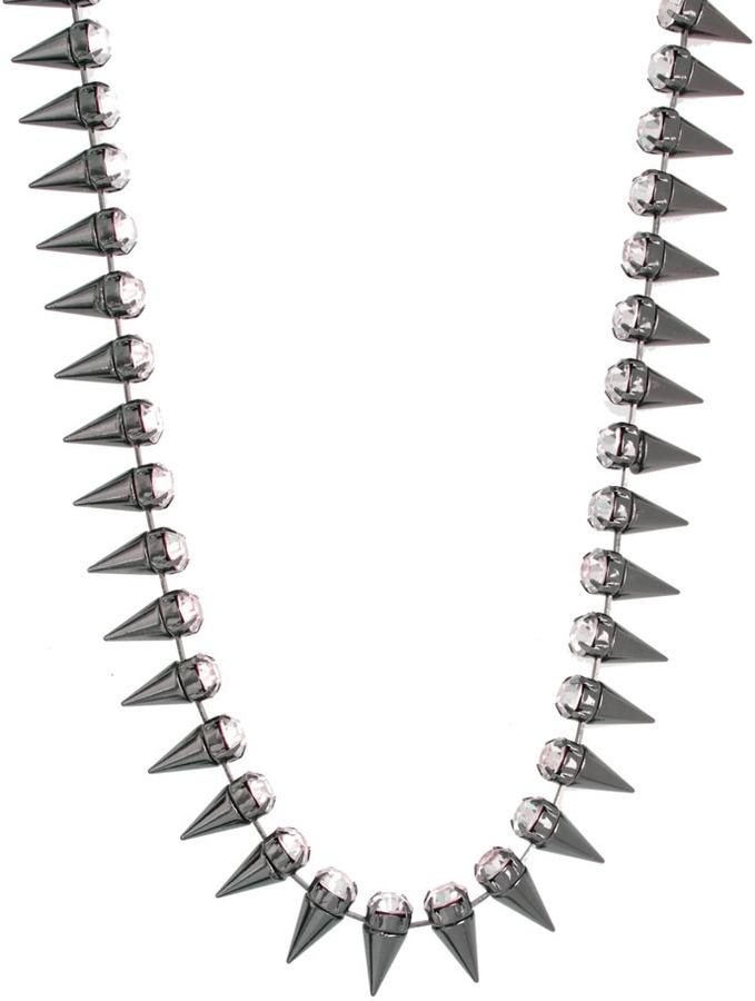 Asos Signature Spike Necklace
